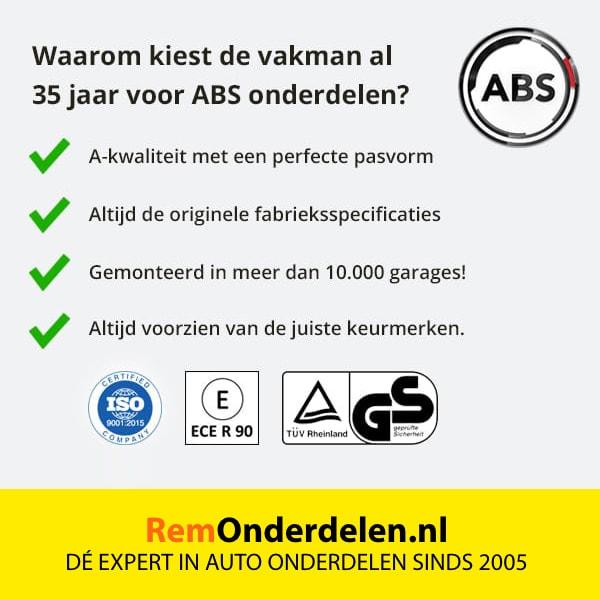 Waarom kiezen voor ABS kwaliteit