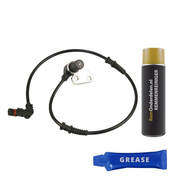 ABS-sensor voorzijde, links MERCEDES-BENZ E-KLASSE (W210) E 200