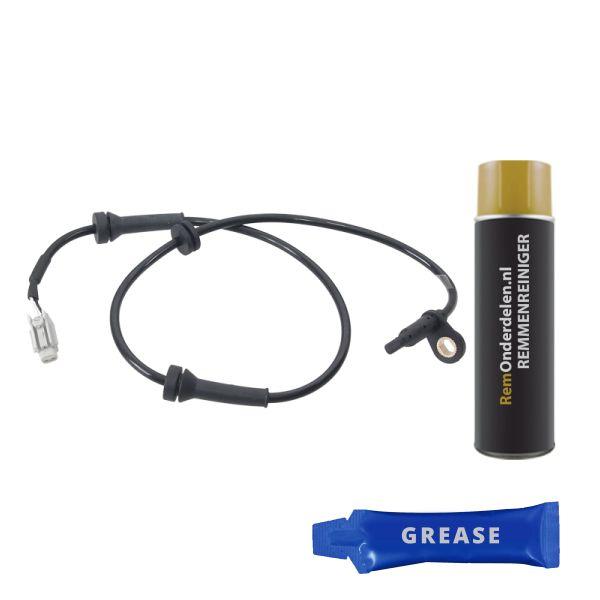 ABS-sensor voorzijde, links of rechts NISSAN X-TRAIL 2.0 4x4
