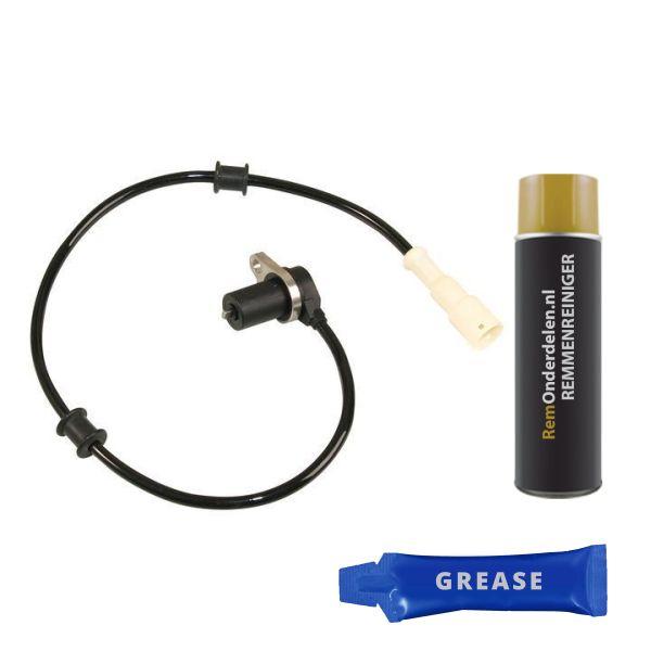 ABS-sensor voorzijde, links of rechts OPEL KADETT E Hatchback 2.0 GSI