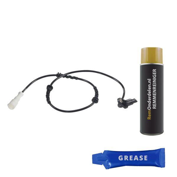 ABS-sensor achterzijde, links RENAULT CLIO II Hatchback/Van 1.2