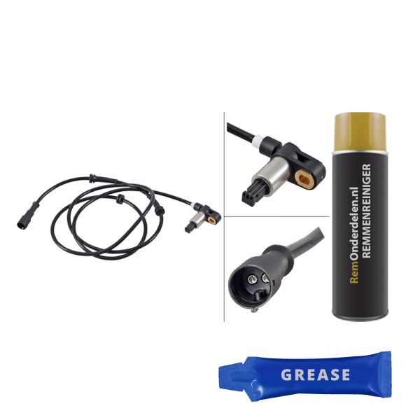 ABS-sensor achterzijde, rechts RENAULT CLIO II Hatchback/Van 1.2