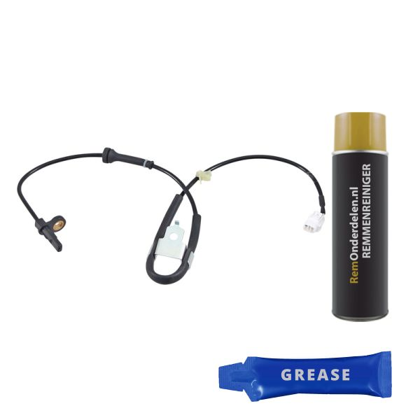 ABS-sensor voorzijde, rechts SUZUKI SPLASH 1.2 VVT