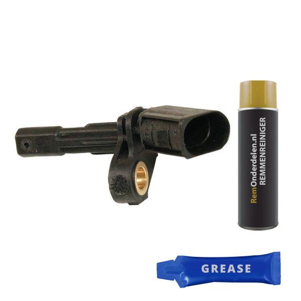 ABS-sensor achterzijde, links VW VOLKSWAGEN SCIROCCO (137, 138) 2.0 TSI
