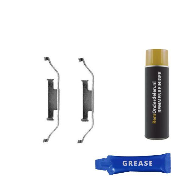 Accessoireset, schijfremblok BMW Z4 Roadster (E85) 2.5 si 1097Q