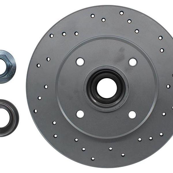 Geperforeerde remschijven achterzijde inclusief lagers en ABS-ring Sport kwaliteit RENAULT SCÉNIC I MPV 1.6