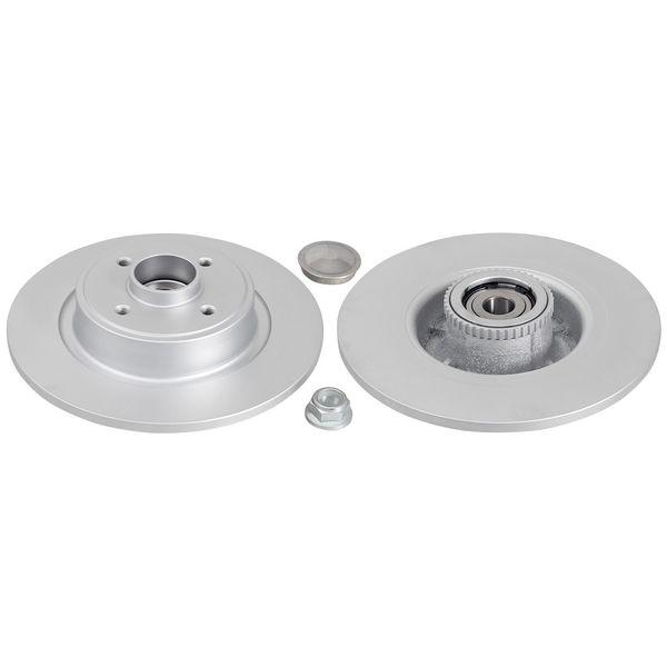 Remschijven achterzijde inclusief lagers en ABS-ring originele kwaliteit RENAULT SCÉNIC I MPV 1.6