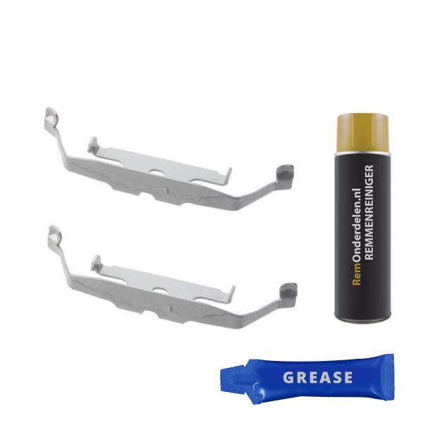 Remblok-montageset voorzijde BMW 1 (F20) 125 d