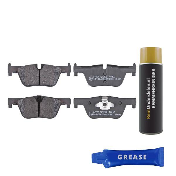 Remblokkenset achterzijde originele kwaliteit BMW 1 (F20) 125 d