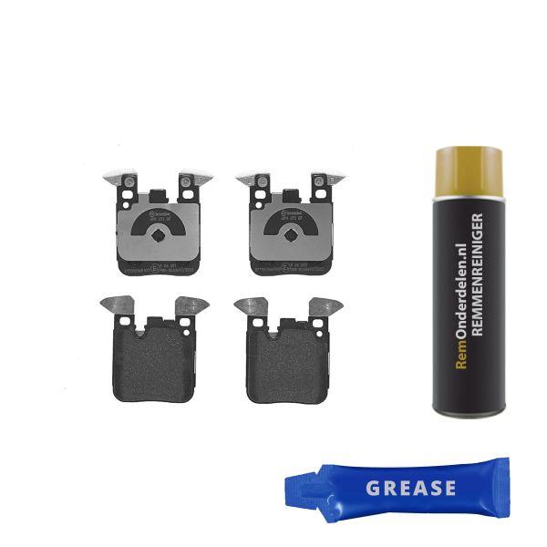 Remblokkenset achterzijde Brembo premium BMW 1 (F20) 125 d