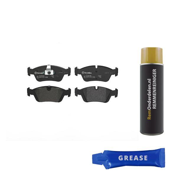 Remblokkenset voorzijde Brembo premium BMW 3 Compact (E46) 318 td