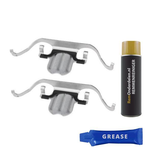 Remblok-montageset voorzijde BMW 3 Coupé (E92) 325 d