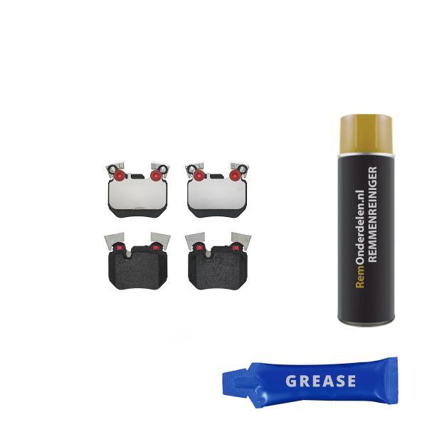 Remblokkenset achterzijde Brembo premium BMW 3 Coupé (E92) 325 d