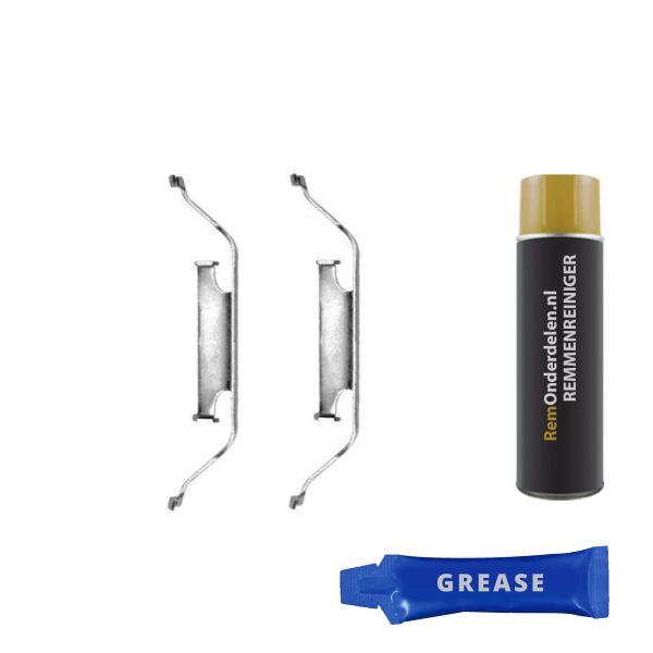 Remblok-montageset voorzijde BMW 3 (E46) 330 xd