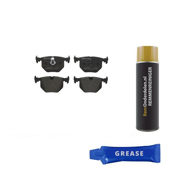 Remblokkenset achterzijde Brembo premium BMW 3 (E46) 330 xd