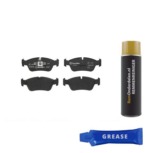 Remblokkenset voorzijde Brembo premium BMW 3 (E90) 318 i