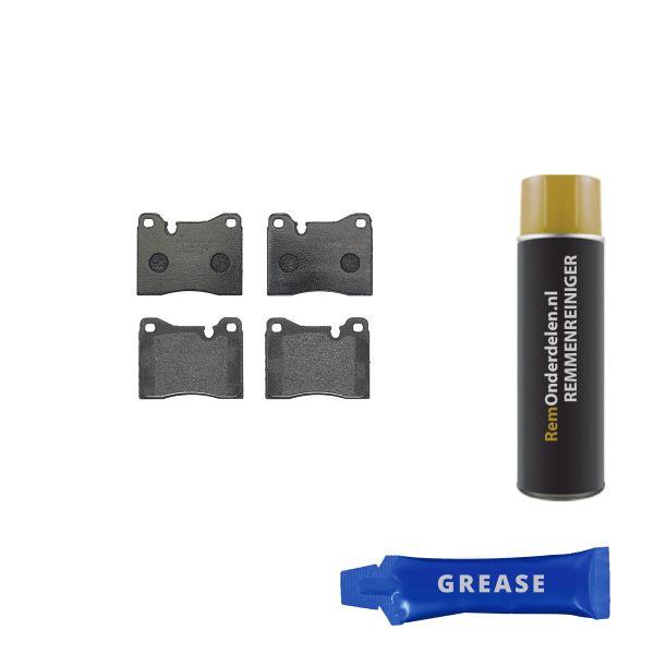 Remblokkenset voorzijde Brembo premium BMW 5 (E12) 518 i