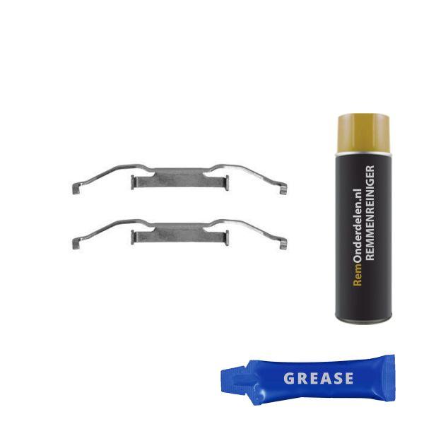 Remblok-montageset voorzijde BMW 5 (E39) 523 i
