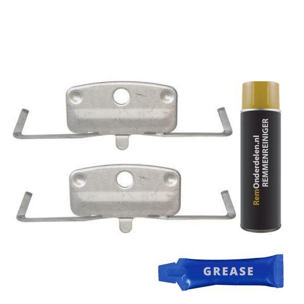 Remblok-montageset voorzijde BMW 5 (E60) 545 i
