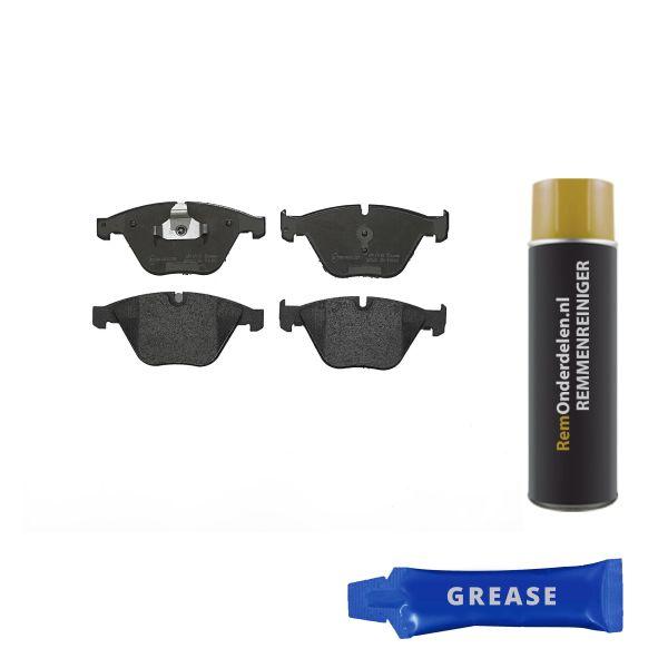 Remblokkenset voorzijde Brembo premium BMW 5 (E60) 545 i