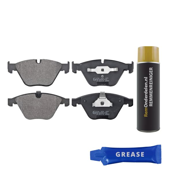 Remblokkenset voorzijde originele kwaliteit BMW 7 (E65, E66, E67) 740 d