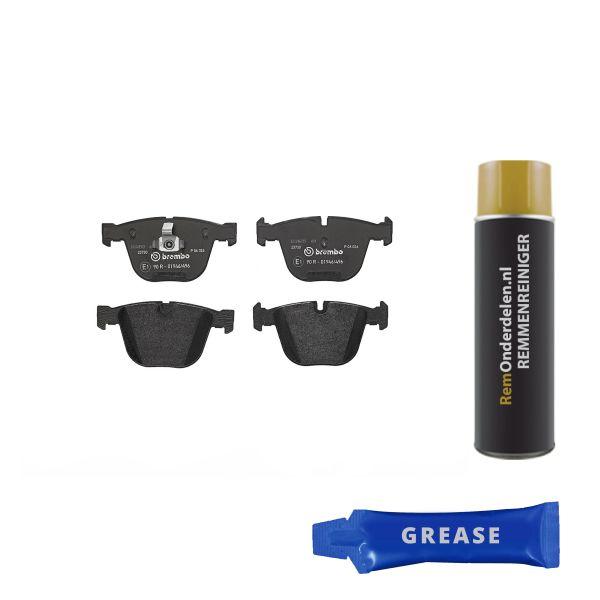 Remblokkenset achterzijde Brembo premium BMW 7 (E65, E66, E67) 740 d