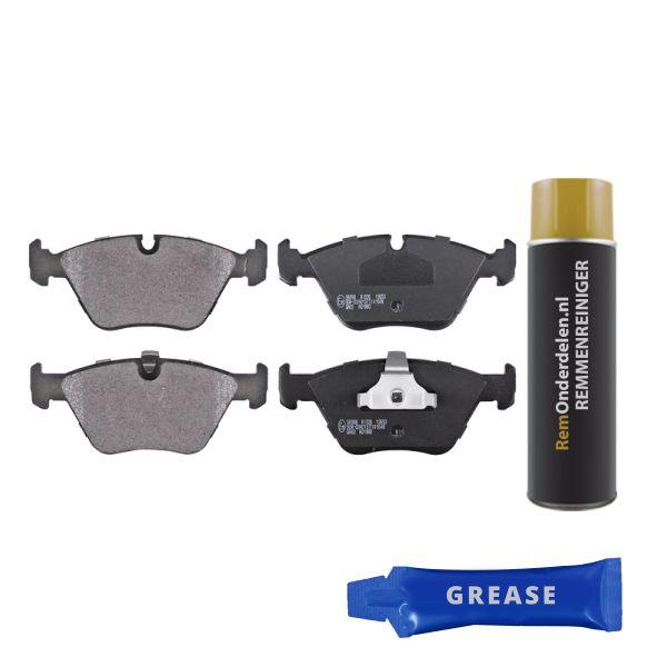 Remblokkenset voorzijde originele kwaliteit BMW X3 (E83) 2.0 d