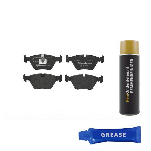 Remblokkenset voorzijde Brembo premium BMW X3 (E83) 2.0 d