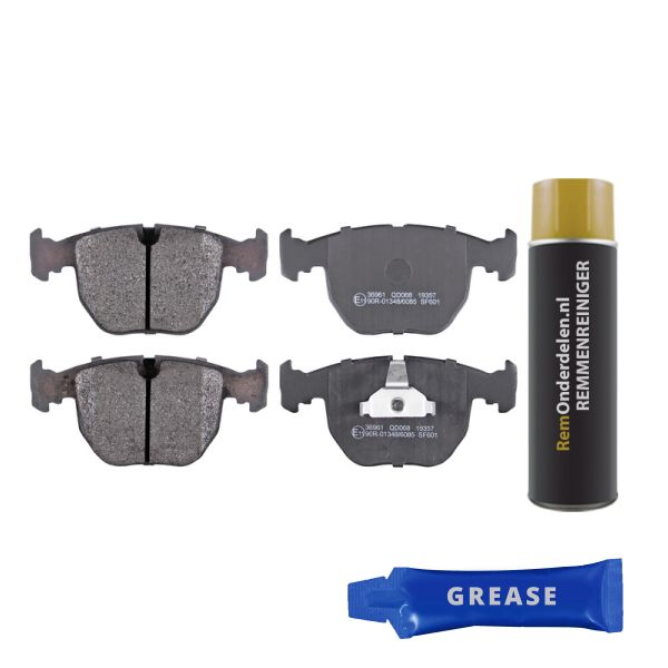 Remblokkenset voorzijde originele kwaliteit BMW X5 (E53) 3.0 d