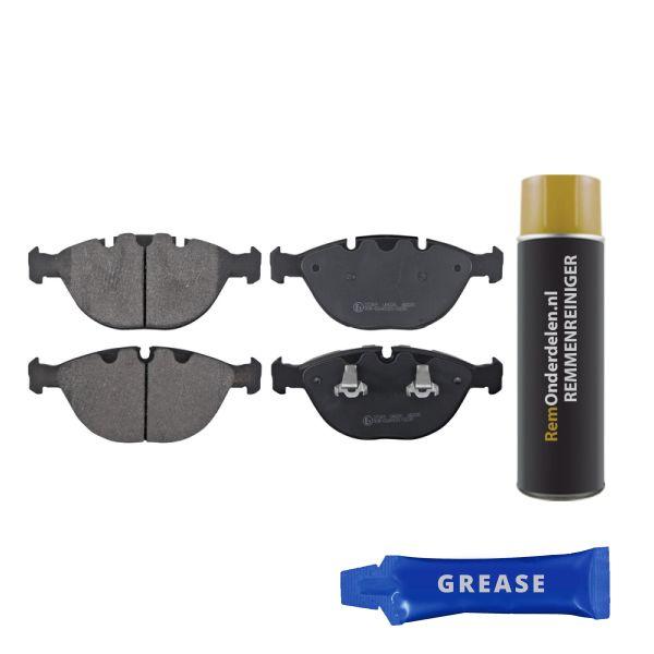 Remblokkenset voorzijde originele kwaliteit BMW X5 (E53) 4.8 is