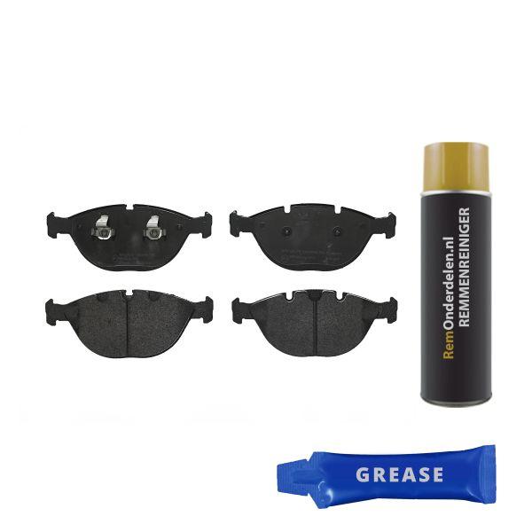 Remblokkenset voorzijde Brembo premium BMW X5 (E53) 4.8 is