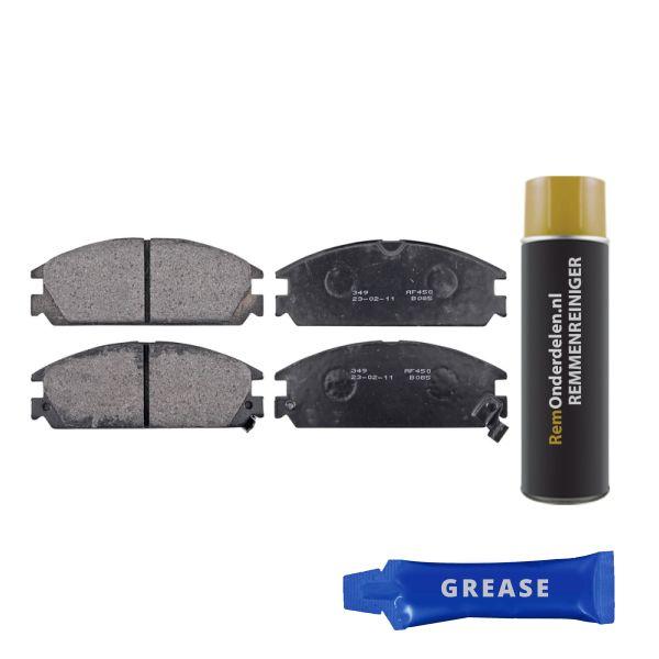 Remblokkenset voorzijde originele kwaliteit HONDA INTEGRA Hatchback 1.5