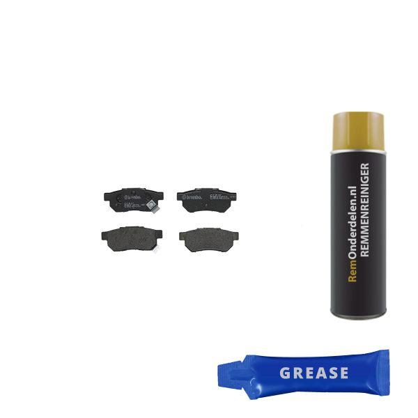 Remblokkenset achterzijde Brembo premium HONDA INTEGRA Hatchback 1.5