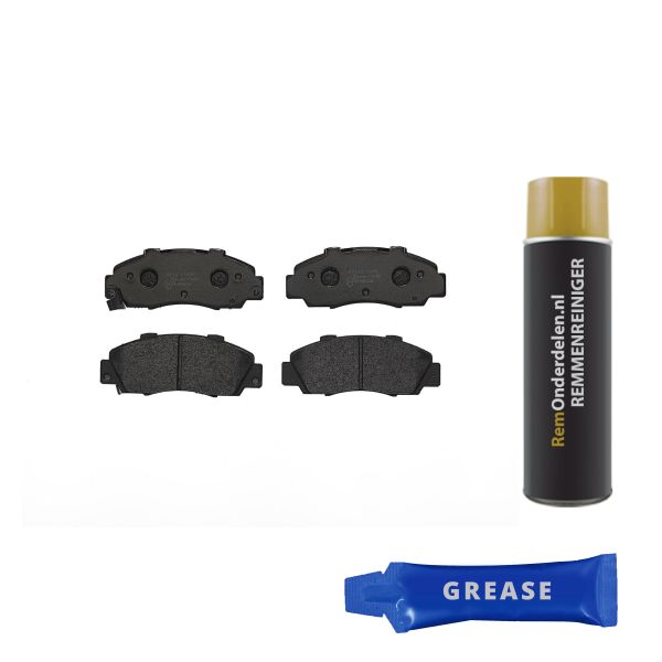 Remblokkenset voorzijde Brembo premium HONDA INTEGRA Hatchback 1.5