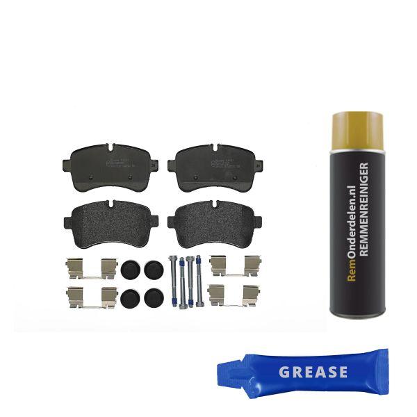 Remblokkenset achterzijde Brembo premium IVECO DAILY IV Open laadbak/ Chassis 35C14 G, 35C14 G/P, 35S14 G, 35S14 G/P, 35C14 GD,...