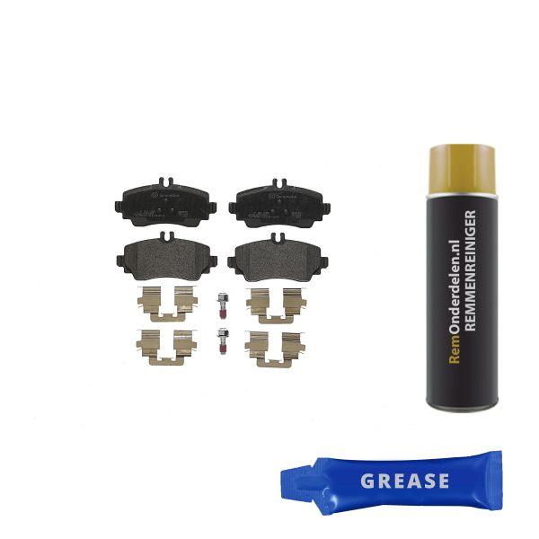Remblokkenset voorzijde Brembo premium MERCEDES-BENZ A-KLASSE (W168) A 160 CDI