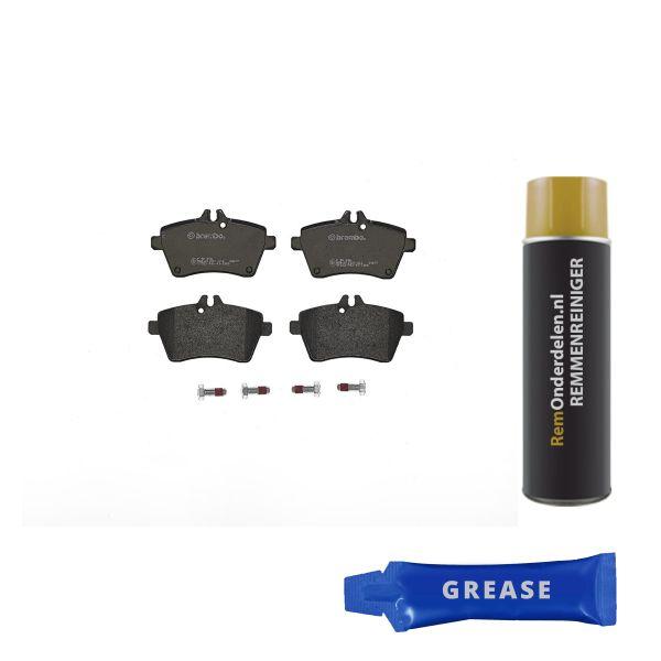 Remblokkenset voorzijde Brembo premium MERCEDES-BENZ B-KLASSE (W245) F-CELL