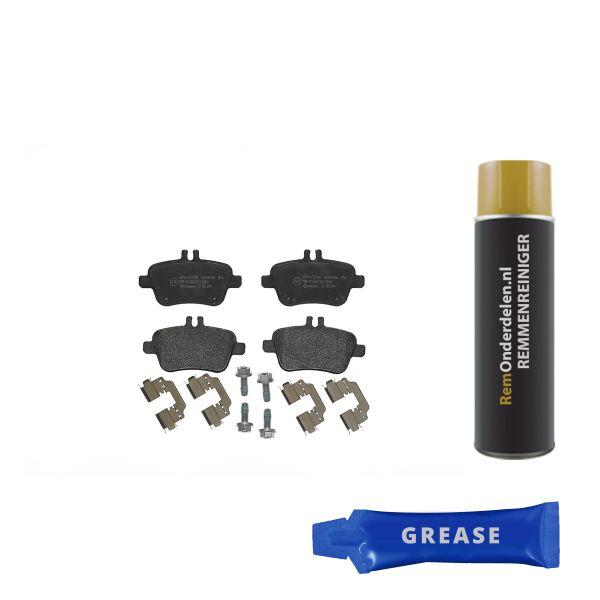 Remblokkenset achterzijde Brembo premium MERCEDES-BENZ B-KLASSE (W246, W242) B 180