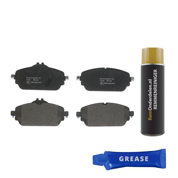Remblokkenset voorzijde Brembo premium MERCEDES-BENZ C-KLASSE Coupé (C205) C 180