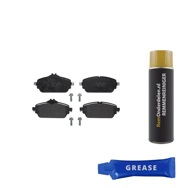 Remblokkenset voorzijde Brembo premium MERCEDES-BENZ C-KLASSE Coupé (C205) C 200 4-matic