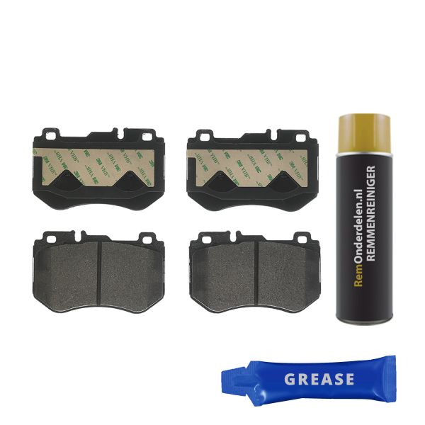Remblokkenset voorzijde Brembo premium MERCEDES-BENZ C-KLASSE Coupé (C205) C 200 d