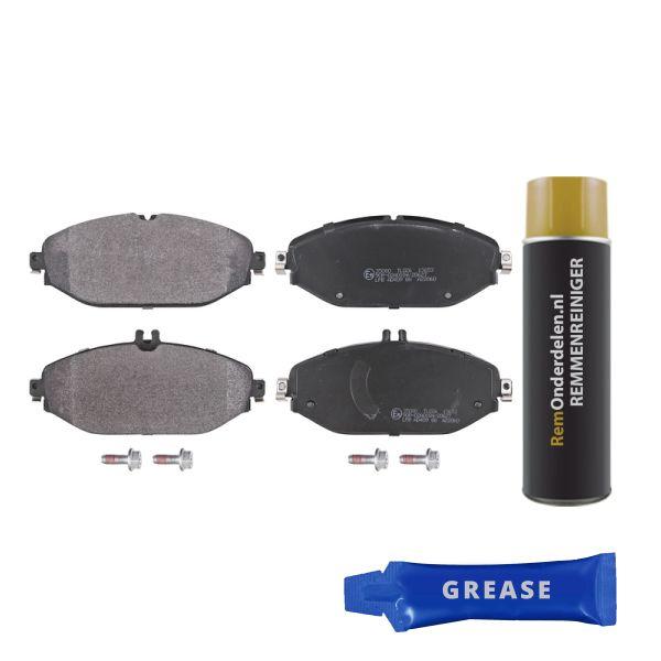 Remblokkenset voorzijde originele kwaliteit MERCEDES-BENZ C-KLASSE Coupé (C205) C 300 EQ Boost