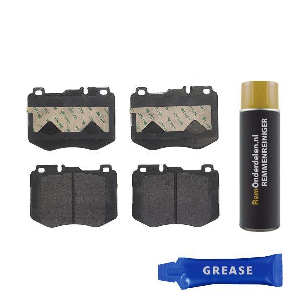 Remblokkenset voorzijde Brembo premium MERCEDES-BENZ C-KLASSE Coupé (C205) C 400 4-matic
