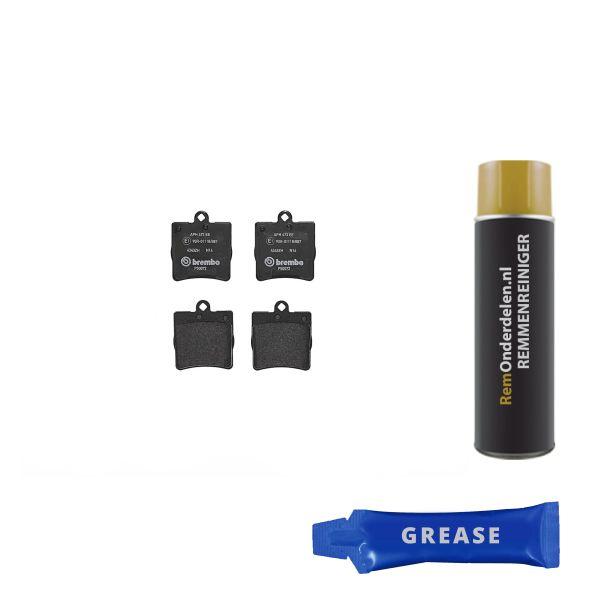 Remblokkenset achterzijde Brembo premium MERCEDES-BENZ C-KLASSE Coupé (CL203) C 220