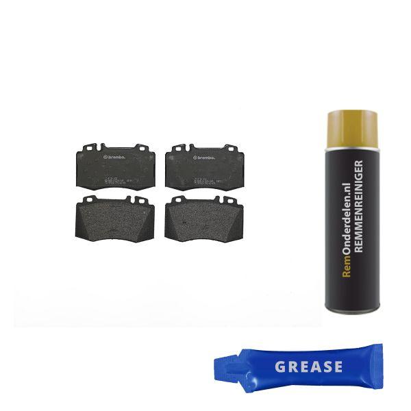 Remblokkenset voorzijde Brembo premium MERCEDES-BENZ C-KLASSE Coupé (CL203) C 30 CDI AMG