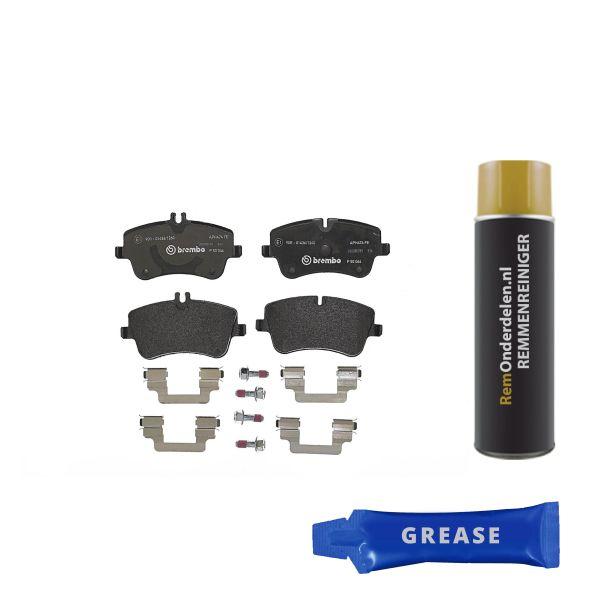 Remblokkenset voorzijde Brembo premium MERCEDES-BENZ C-KLASSE T-Model (S203) C 280 4-matic