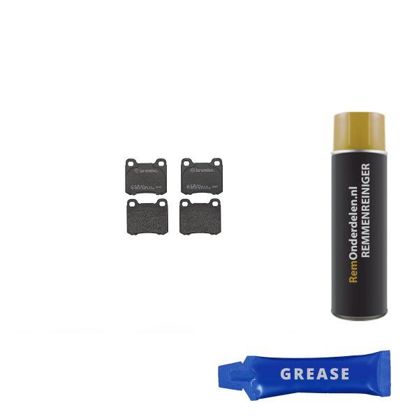 Remblokkenset achterzijde Brembo premium MERCEDES-BENZ C-KLASSE (W202) C 200