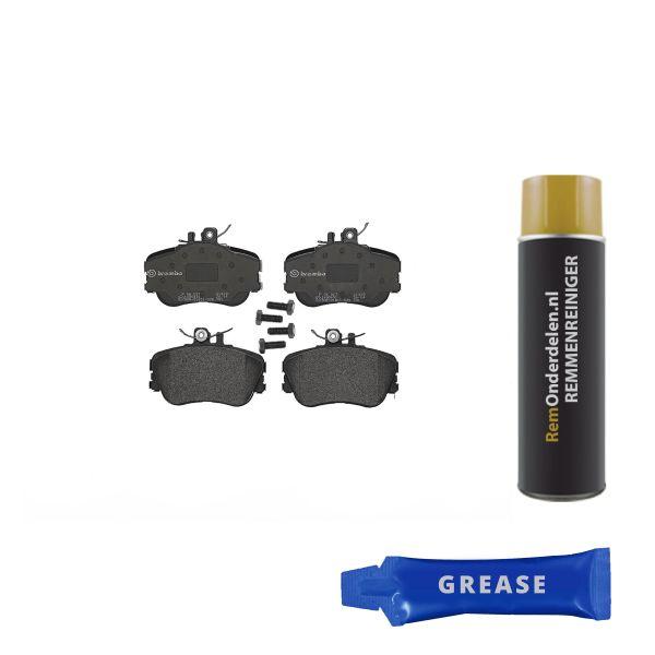 Remblokkenset voorzijde Brembo premium MERCEDES-BENZ C-KLASSE (W202) C 200 D
