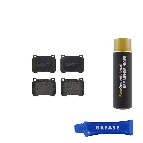 Remblokkenset voorzijde Brembo premium MERCEDES-BENZ C-KLASSE (W203) C 220 CDI