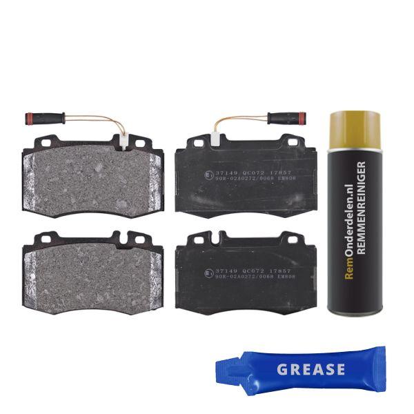 Remblokkenset voorzijde originele kwaliteit MERCEDES-BENZ E-KLASSE (W211) E 500 4-matic
